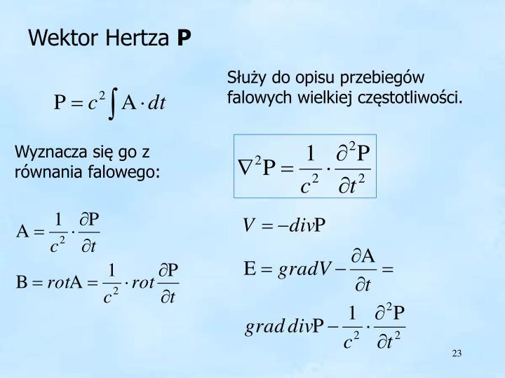 Wektor Hertza