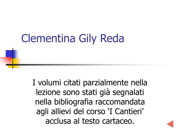 Clementina Gily Reda