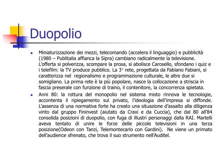 Duopolio