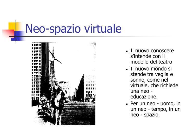 Neo-spazio virtuale