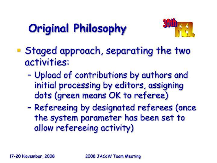 Original Philosophy