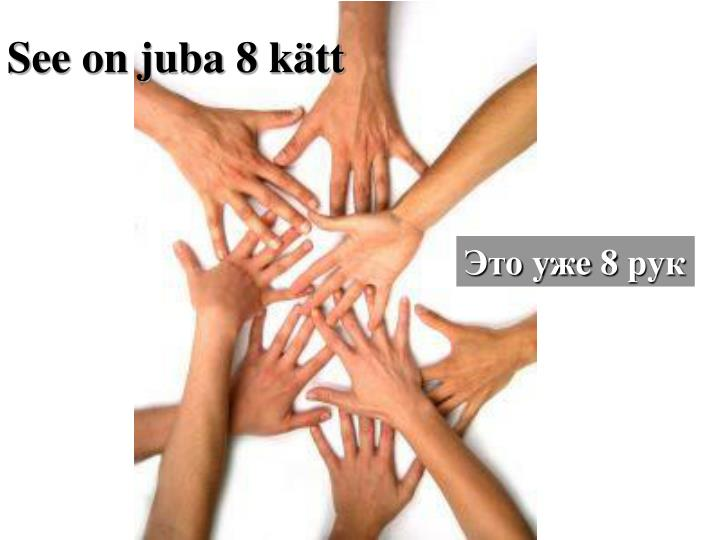 See on juba 8 ktt