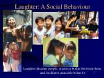 laughter a social behaviour