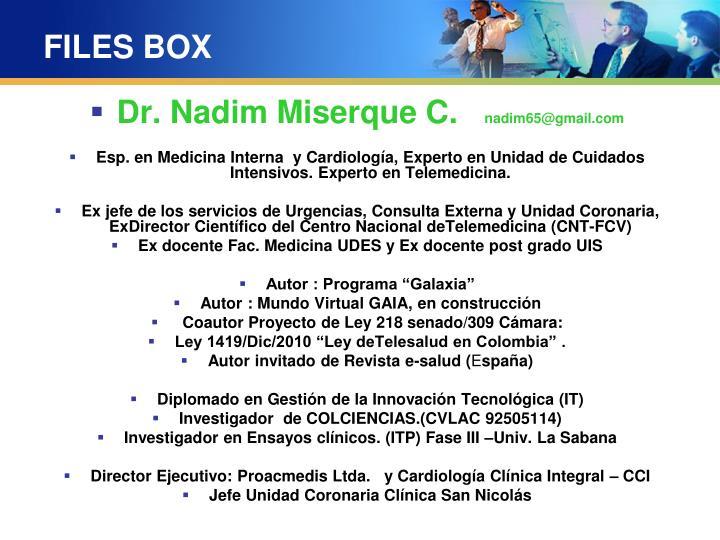 FILES BOX