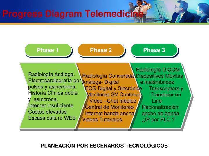 Progress Diagram Telemedicine