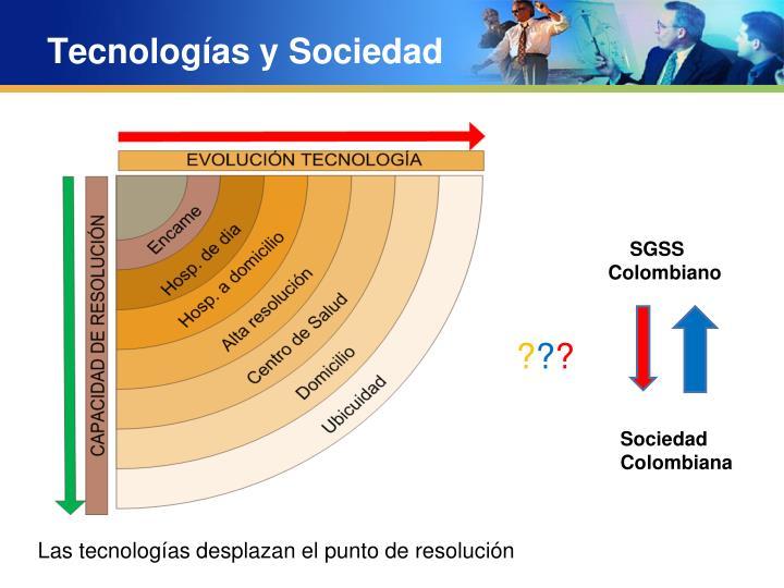 Tecnologías y Sociedad
