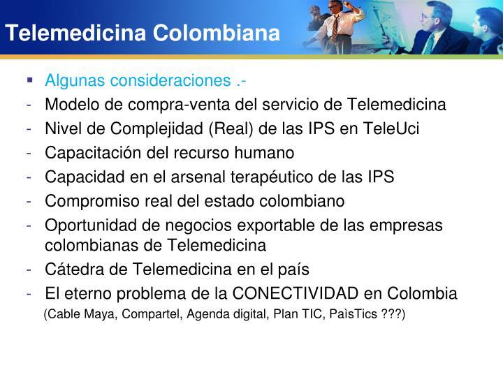 Telemedicina Colombiana