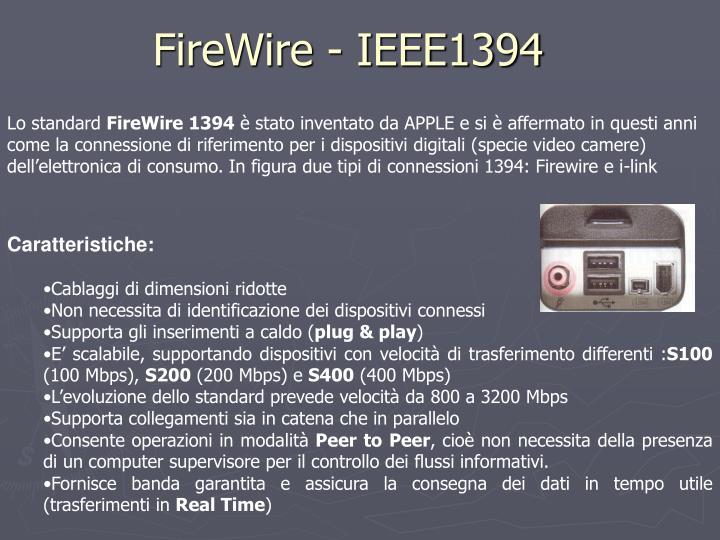 FireWire - IEEE1394