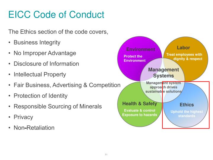 EICC Code of Conduct