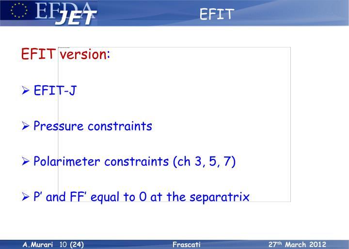 EFIT: