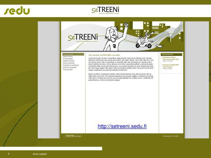 http://setreeni.sedu.fi