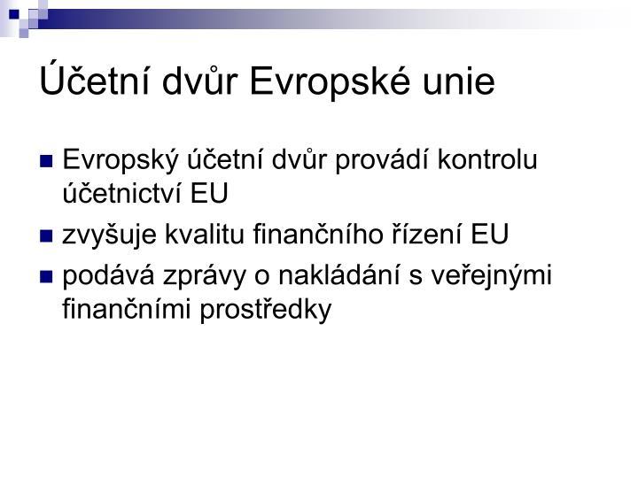 Účetní dvůr Evropské unie