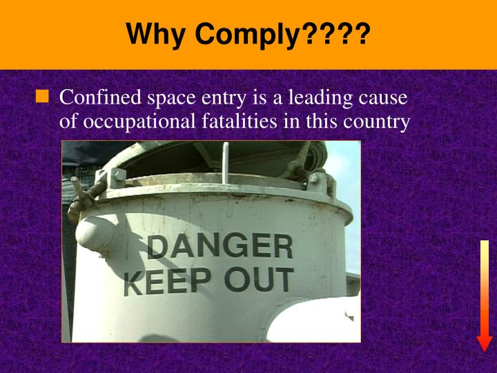 Why comply