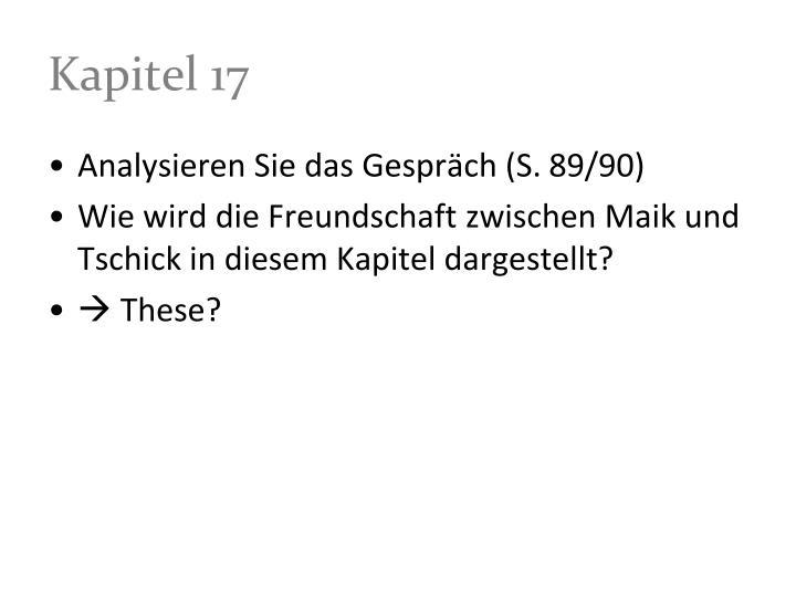 Kapitel 17