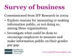 survey of business1
