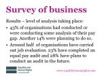 survey of business3