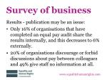 survey of business4