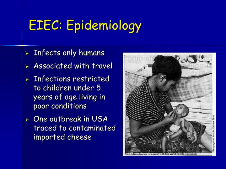 EIEC: Epidemiology