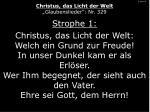 1 von 4 christus das licht der welt glaubenslieder nr 329