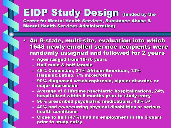 EIDP Study Design
