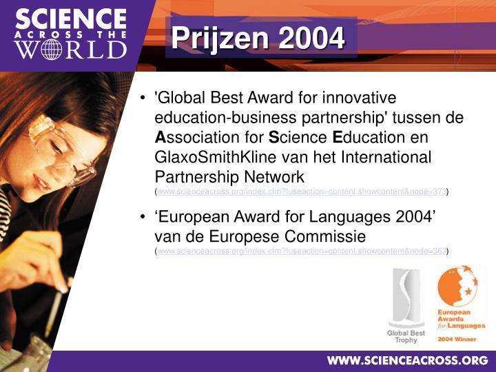 Prijzen 2004