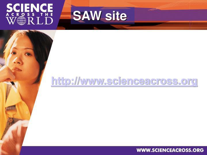 SAW site