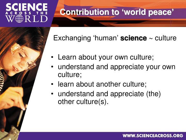 Exchanging 'human'