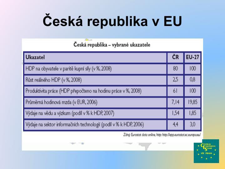 Česká republika v EU