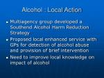 alcohol local action1