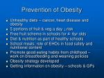 prevention of obesity1