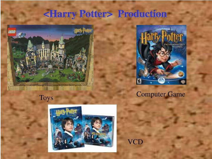 <Harry Potter>  Production
