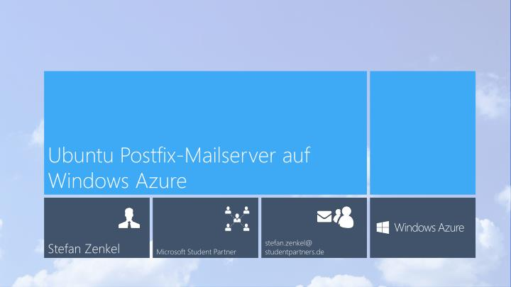 Ubuntu postfix mailserver auf windows azure