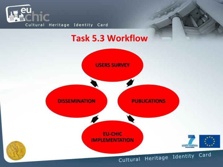Task 5.3 Workflow