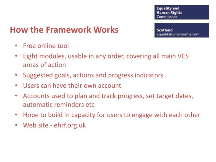 How the Framework Works