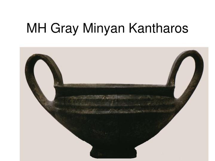 MH Gray Minyan Kantharos