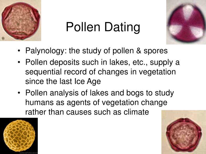 Pollen Dating