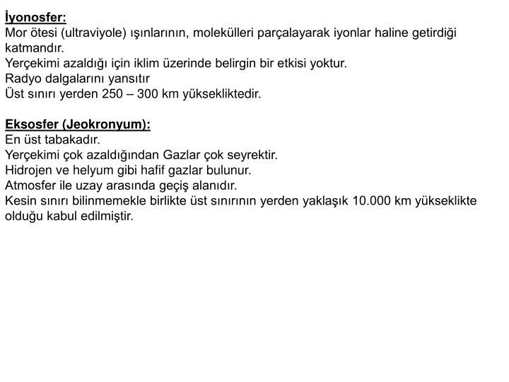 İyonosfer: