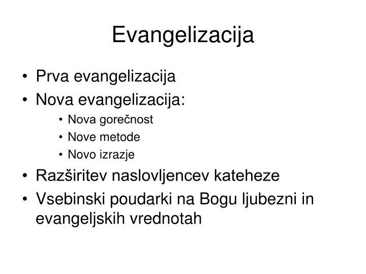 Evangelizacija