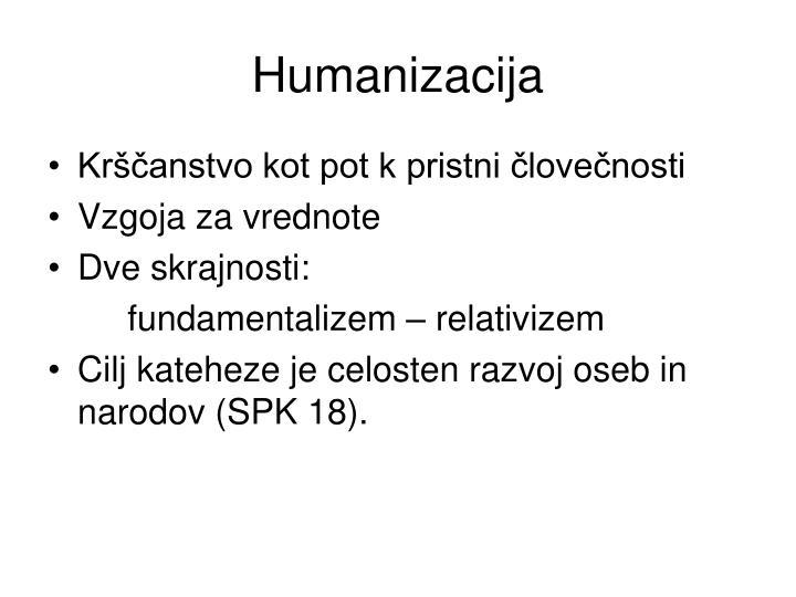 Humanizacija