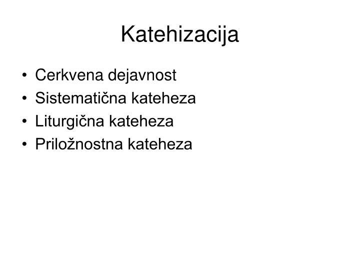 Katehizacija