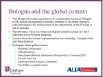 bologna and the global context1