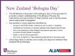 new zealand bologna day