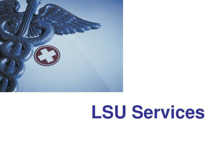 LSU Services