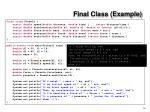 final class example