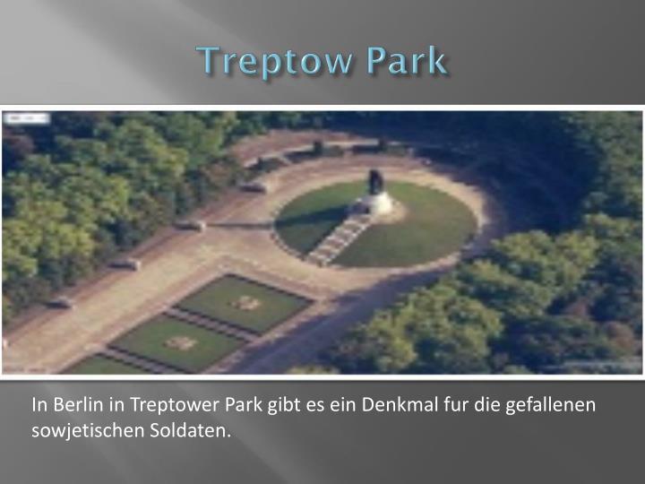 In Berlin in Treptower Park gibt es ein Denkmal fur die gefallenen sowjetischen Soldaten.