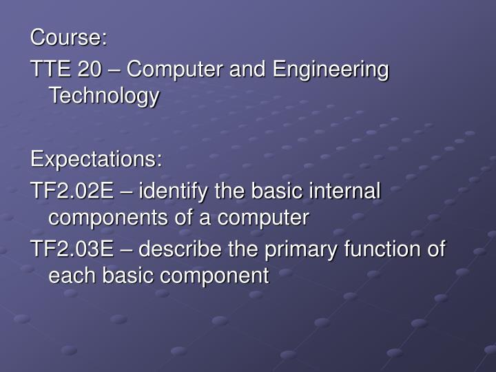 Course: