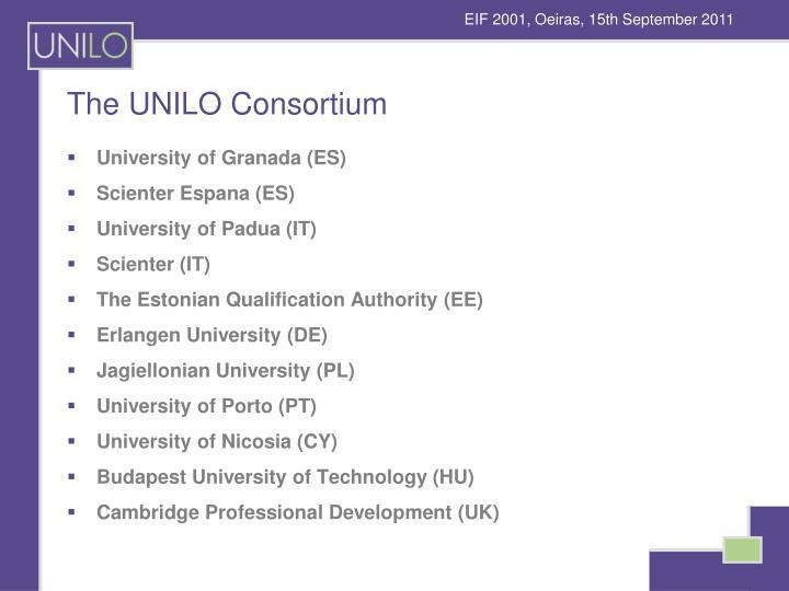 The UNILO Consortium