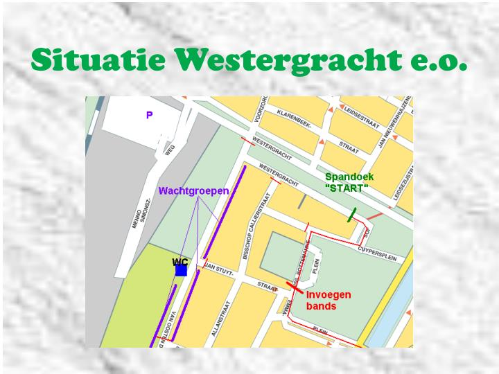 Situatie Westergracht e.o.