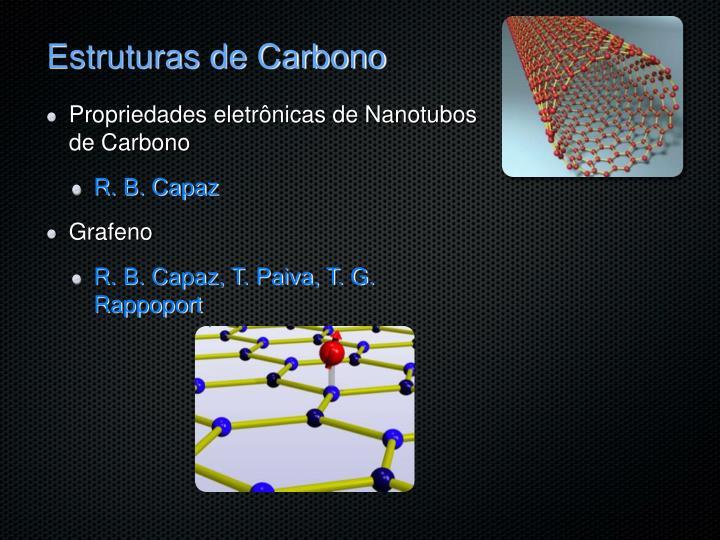 Estruturas de Carbono