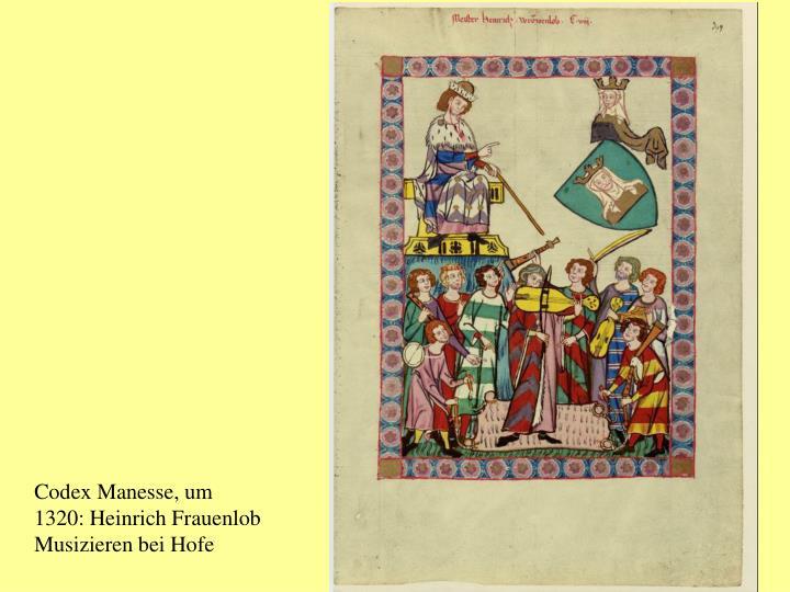 Codex Manesse, um